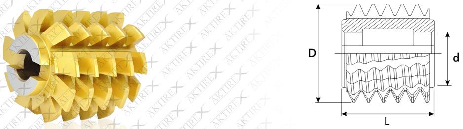 Azdırma Modül Serisi – 20° DALMA (Sarı Dişli – Asansör ve Redüktör Dişlisi)