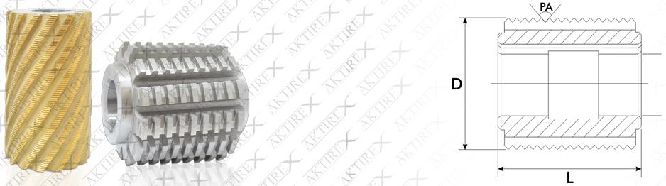 Hatve Freze Serisi (CNC Torna Ayağı) Titan Kaplamalı